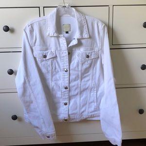 Joe's White Denim Jacket